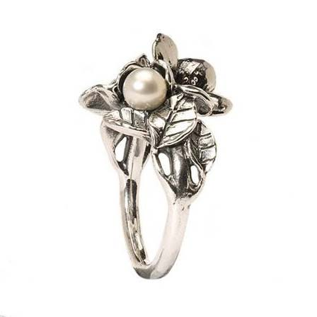 biancospino con perla